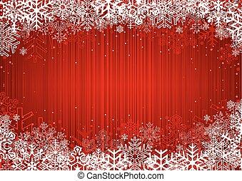 背景, 紅色, 聖誕節