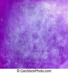 背景, 紫色, 抽象的, 手ざわり