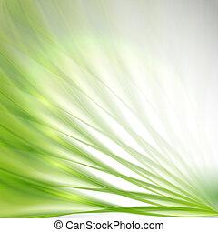 背景, 緑の概要
