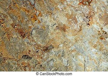 背景, 结构, 在中, 石灰石, 石头, 表面