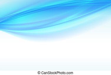 背景, 青, 抽象的