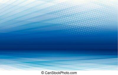 背景, 青, 現代, 抽象的, 見通し
