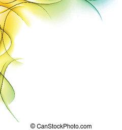 背景。, 顏色, 波狀, 摘要