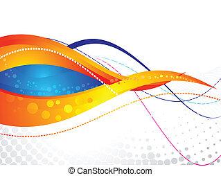 背景, colorfu, 抽象的