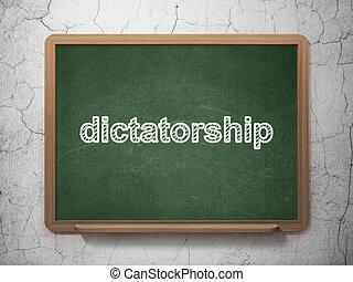 背景,  concept:, 政治, 黑板,  dictatorship