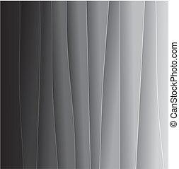 背景, graphic., オフホワイト, 1(人・つ), ペーパー, 成っている, 端, &, -, 他, 黒, 白,...