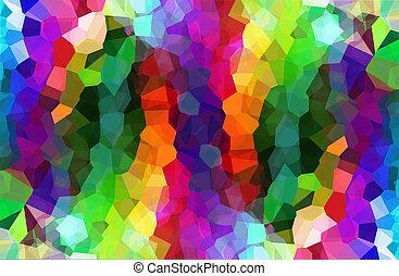 背景, multicolor