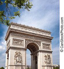 胜利的拱形, 巴黎