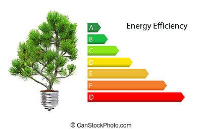 能量, 效率, 規定值