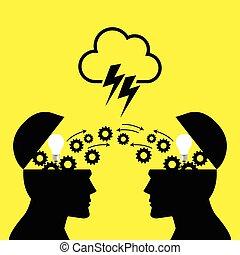 脳を襲撃すること