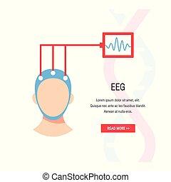 脳波, ベクトル, 概念