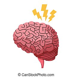 脳, シンボル, alzheimer
