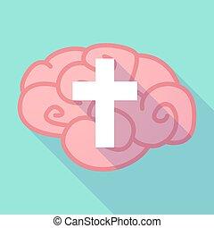 脳, 交差点, 長い間, 影, キリスト教徒