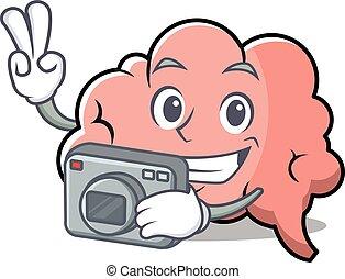 脳, 写真撮影, 特徴, 漫画, マスコット