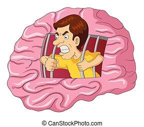 脳, 刑務所