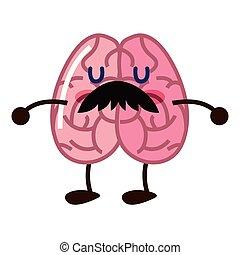 脳, 特徴, 漫画