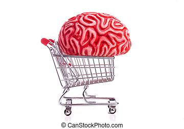 脳, 買い物カート