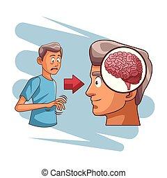 脳, alzheimer, 病気
