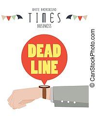 腕時計, 手, ビジネス, 時
