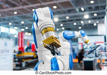 腕, 工場, ロボット