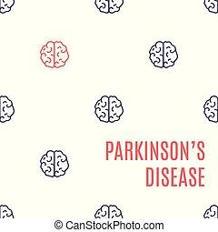 腦子疾病, parkinson's, 海報