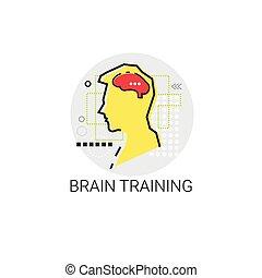 腦子, 訓練, 認為, 新的想法, 靈感, 創造性, 過程, 事務, 圖象