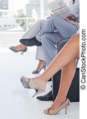 腿, ......的, 商業界人士
