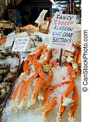 腿, 螃蟹