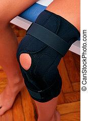膝, 物理療法, 支柱