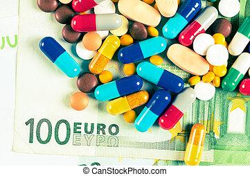 臟的錢, 以及, 藥物
