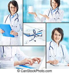 臨床醫師, 工作