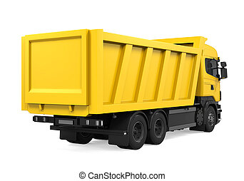 自動傾卸卡車, tipper, 被隔离
