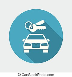 自動車のキー, アイコン