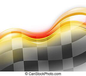 自動車レース, スピード, 背景