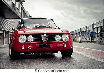 自動車レース, 古い