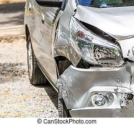 自動車事故, 交通