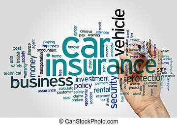 自動車保険, 単語, 雲