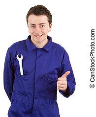 自動車修理工