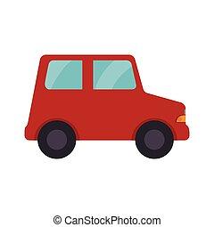 自動車, おもちゃ, 子供