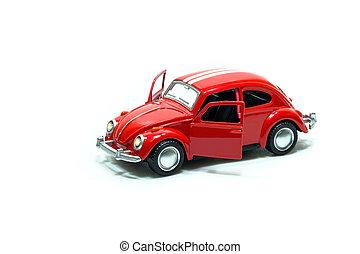 自動車, おもちゃ, 赤