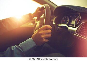 自動車, そして, ∥, 運転手
