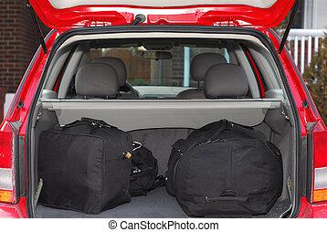 自動車, ∥で∥, 手荷物