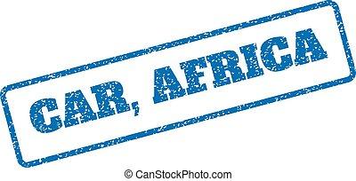 自動車, アフリカ, ゴム製 スタンプ