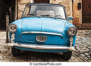 自動車, イタリア語