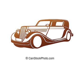 自動車, カラメル, クラシック