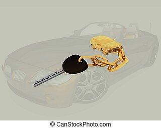 自動車, キー