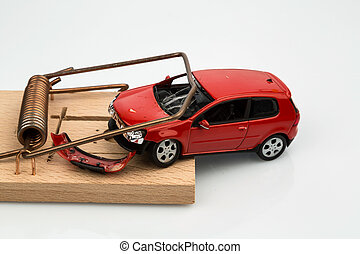自動車, モデル, mousetrap