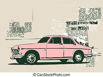 自動車, レトロ