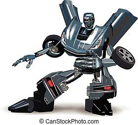 自動車, ロボット