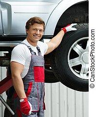 自動車, ワークショップ, 修理人